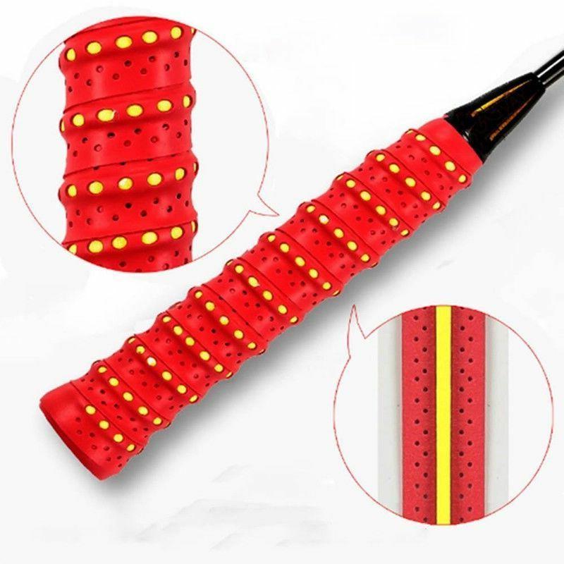Absorb Racket Anti-slip Tape Grip Tennis Badminton Squash Bands