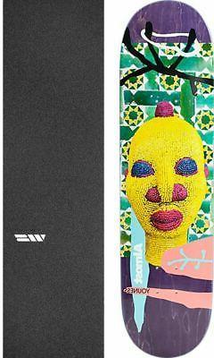 """Almost Skateboards African Mask 8.2"""" Skateboard Deck + gript"""