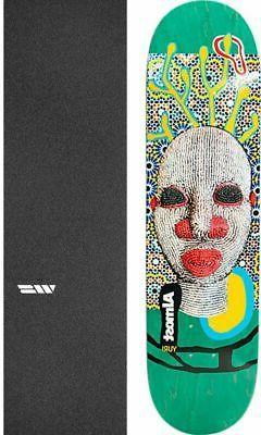 """Almost Skateboards African Mask 8.37"""" Skateboard Deck + grip"""