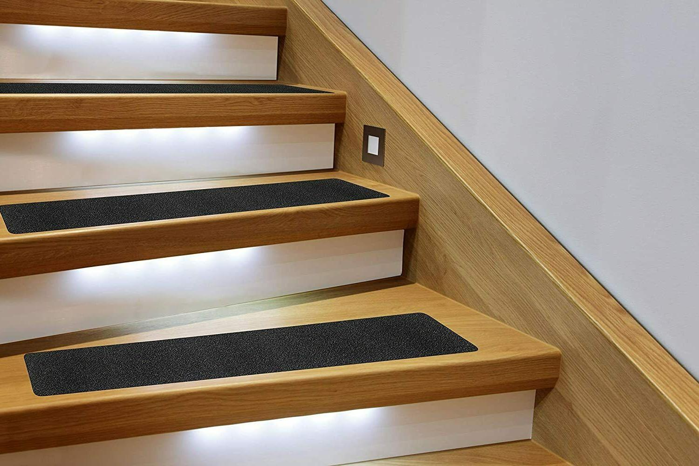 "Anti Slip Stair Traction Tape 30""x6"" Black Indoor Outdoor"