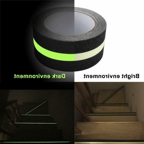 Adhesive Non Skid with Glow-in-Dark