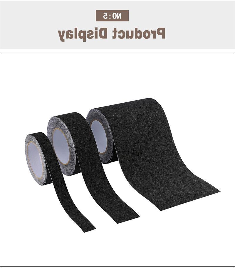 Anti Slip Skid High Traction Safety Grit Grip Black