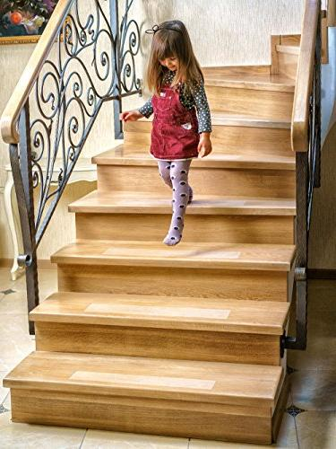 Kenley Non Slip Stair Treads 10 Pack Clear