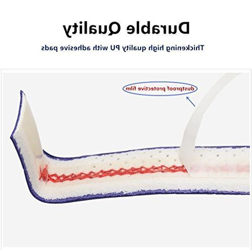 Yuboa Anti-Slip Racket Bat/Badminton/Bike Handle/Softball,Black