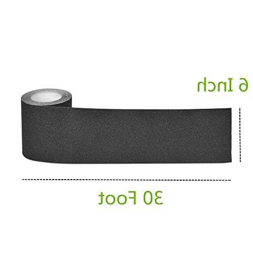 "Anti 6"" x Best Adhesive For Tread Step, Black"