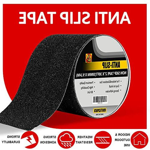 FUNTECPACK Slip Tape-30 x inches Friction,Grip,Safety,Abrasive for ,Indoor, Outdoor -