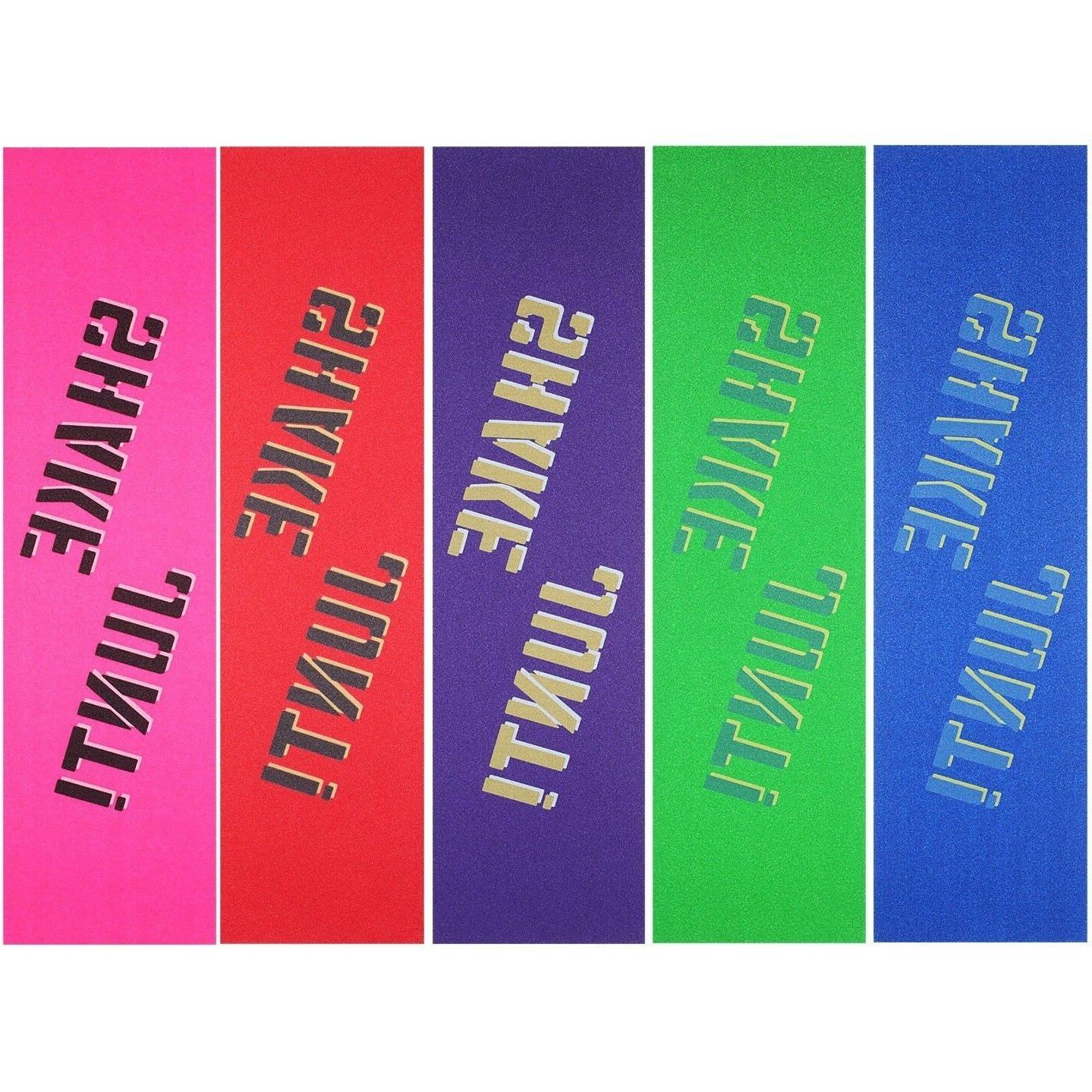 assorted colored skateboard grip tape 9 x