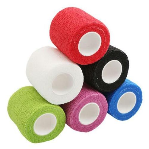 ATHLETIC SPORTS TAPE Stretch Power Wrap Self Stick Adherent