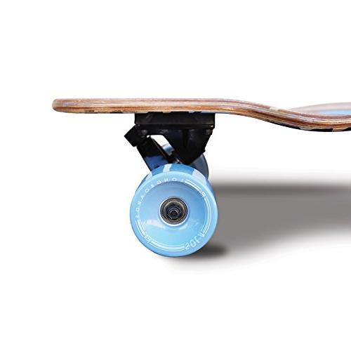 Sola Premium Design Longboard Skateboard - to 38 inch