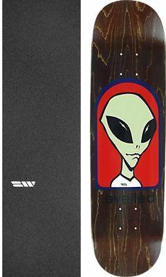 """Alien Workshop  Believe 8"""" Skateboard Deck + griptape"""