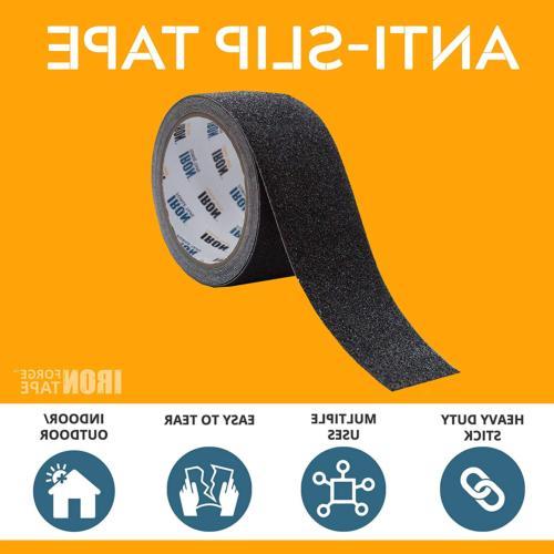 Black Anti Slip Tape - 4 Inch 30 Foot, 80 Non Slip