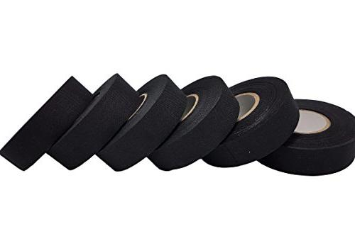 Black Tape Stick Rolls Inch Wide, 20 Yards Long - Made Specifically for