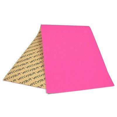 "Black 9"" x 33"" Neon Pink Griptape/Grip"