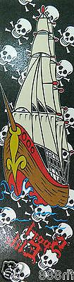 Brand New Ghost Ship Graphic Skateboard Grip Tape 9'' x 33''