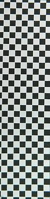 Brand New Skateboard Grip Tape Checker White 9'' x 33''