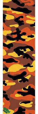 MOB Camo Grip Tape Sheet Orange 9x33