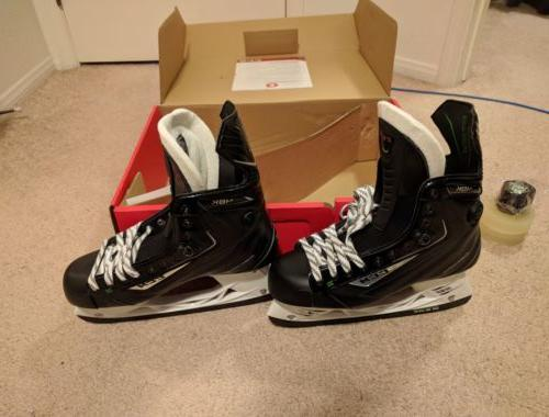 CCM Ribcor 48k Pump Ice Skates US Size 10 + stretch grip tap
