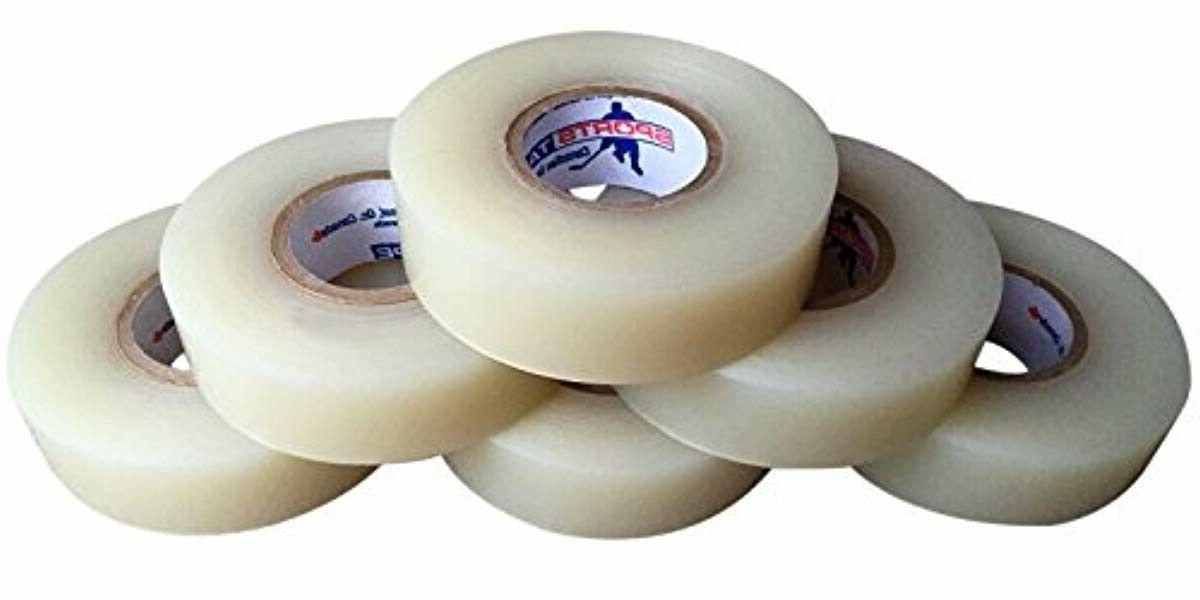 Clear Sock Tape. Easy Rip. 6 Pack. SportsTape