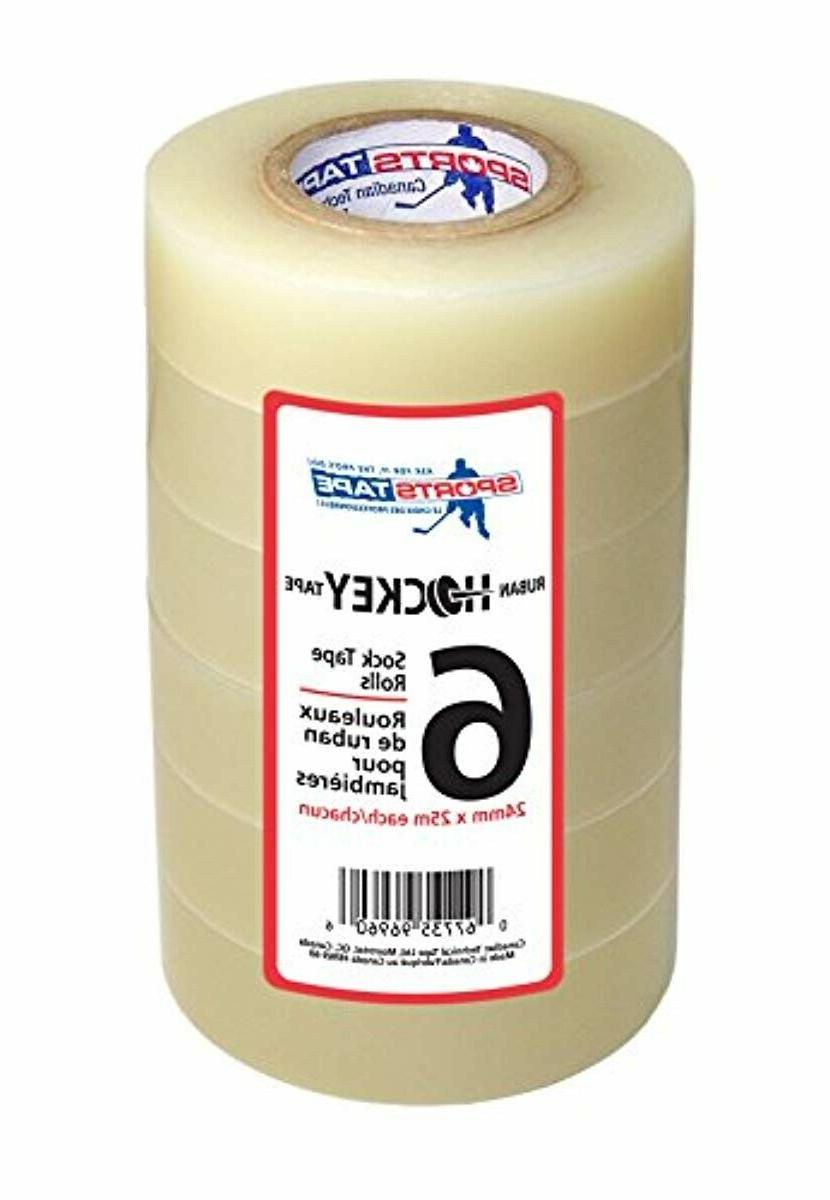 clear hockey tape poly sock tape easy