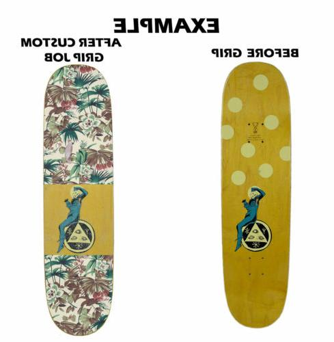 Mob Clear Skateboard - Customize Deck