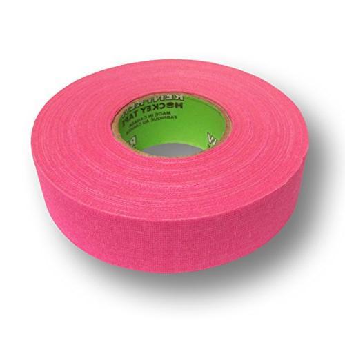 cloth hockey tape 1 bright pink 25m