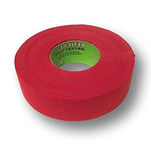 cloth hockey tape 1 red 25m