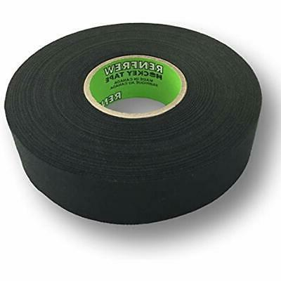 cloth hockey tape 1 straight edge black
