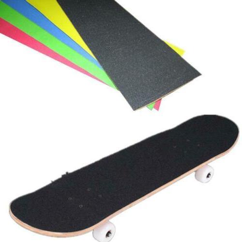 colorful skateboard deck sandpaper grip tape griptape