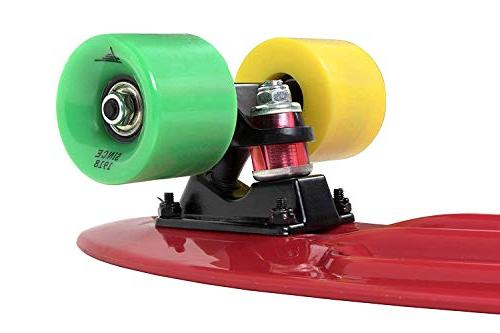 Flybar Skateboard Non-Slip Deck Multiple Colors