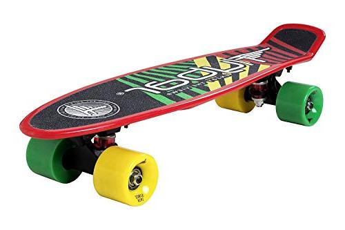 Flybar 22 Inch Plastic Grip Skateboard Custom Multiple