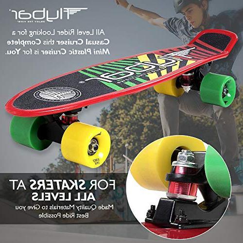 Flybar 22 Plastic Skateboard Custom Non-Slip Deck