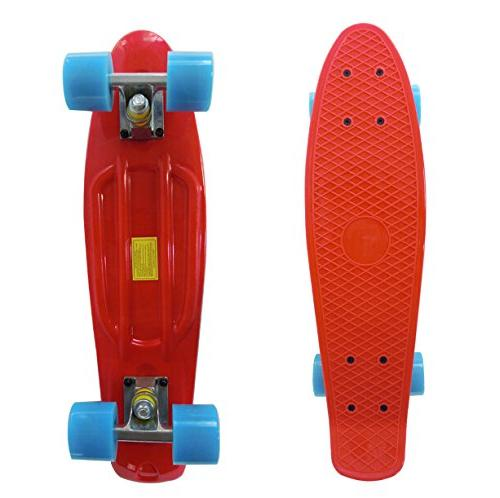 Rimable Inch Skateboard Red&blue