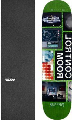 "Alien Workshop  Control Room 8.25"" Skateboard Deck + griptap"