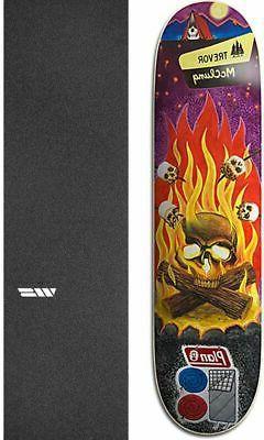 "Plan B Skateboards Cranial 8.37"" Skateboard Deck + griptape"