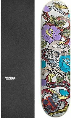 "Plan B Skateboards Cranial 8"" Skateboard Deck + griptape"