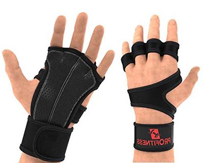 ProFitness Cross Training Glove 5 X-Large, Black/Red