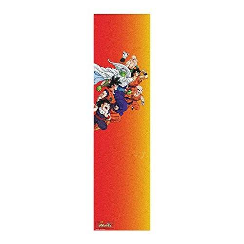 dbz gradient grip tape orange