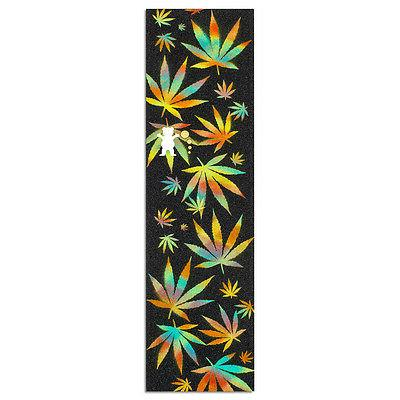 diamond idea cannabis cutout skateboard grip tape