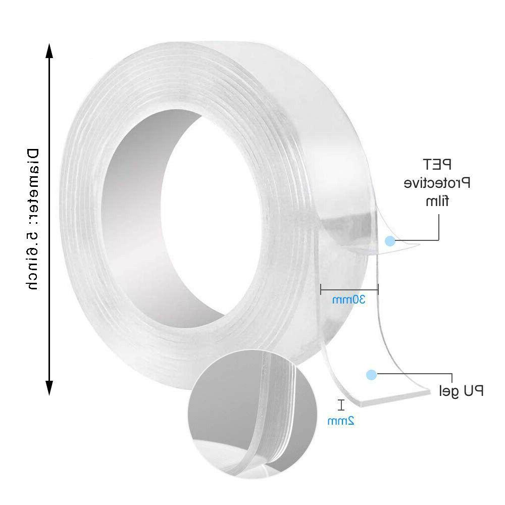 Double-sided Grip Washable Adhesive Gel Tapes