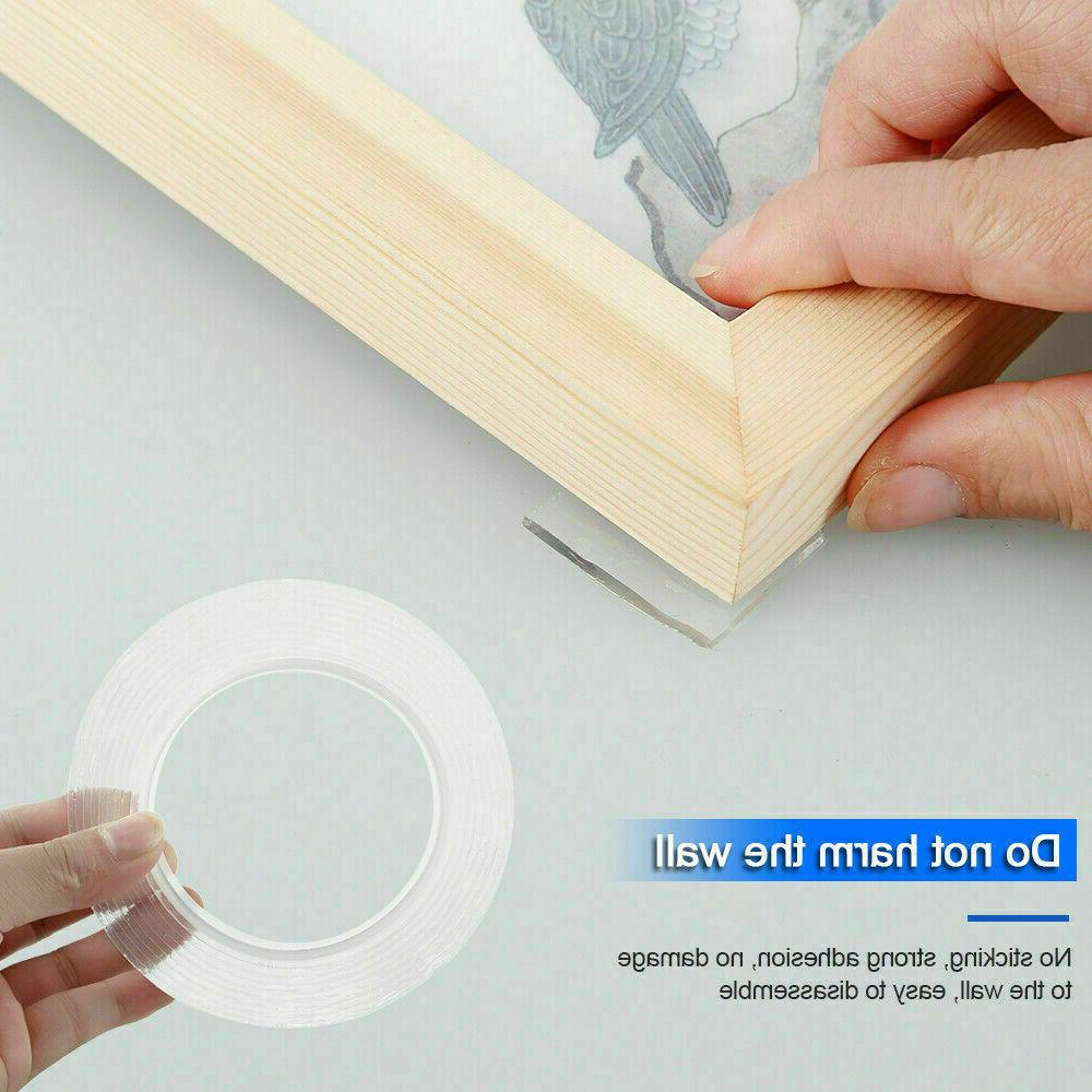 Double-sided Grip Traceless Washable Adhesive Nano Gel Tapes