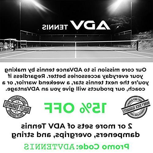 ADV Tennis Overgrip - 12 Pack Feel Velvety Comfort Exclusive