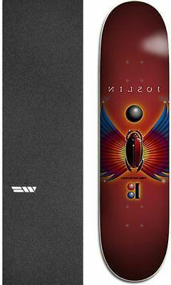 "Plan B Skateboards Evolution 8.25"" Skateboard Deck + griptap"