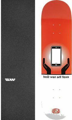 """Alien Workshop  Exalt Gen Zed 8"""" Skateboard Deck + griptape"""
