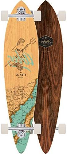 Arbor Fish 37 Groundwell Longboard Complete New 2017