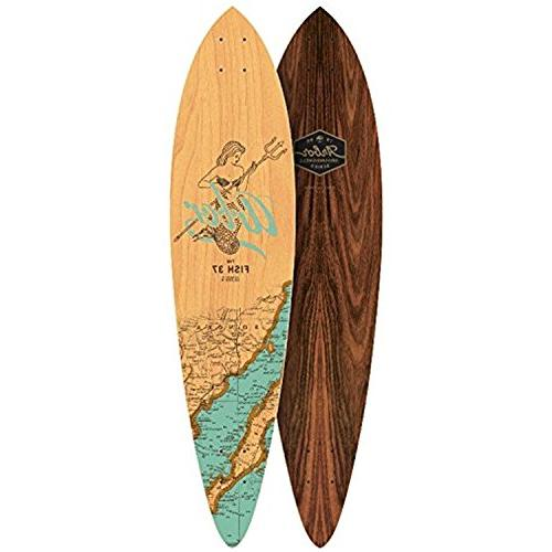 fish 37 longboard deck groundswell