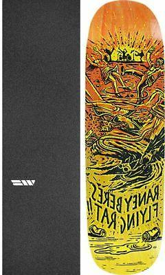 "Anti Hero Skateboards Flying Rat II 8.63"" Skateboard Deck +"