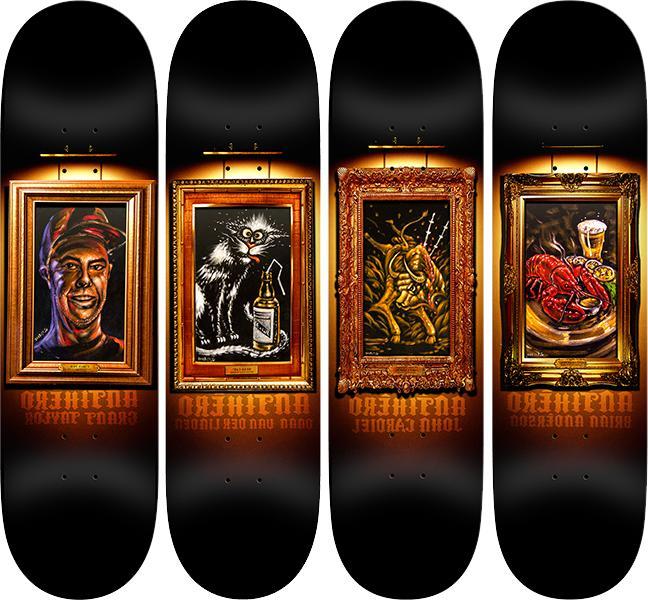 full black velvet art series lot set