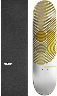 "Plan B Skateboards Geo 8.25"" Skateboard Deck + griptape"