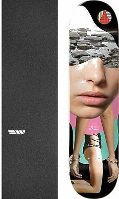 "Almost Skateboards Girl Collage 8.25"" Skateboard Deck + grip"