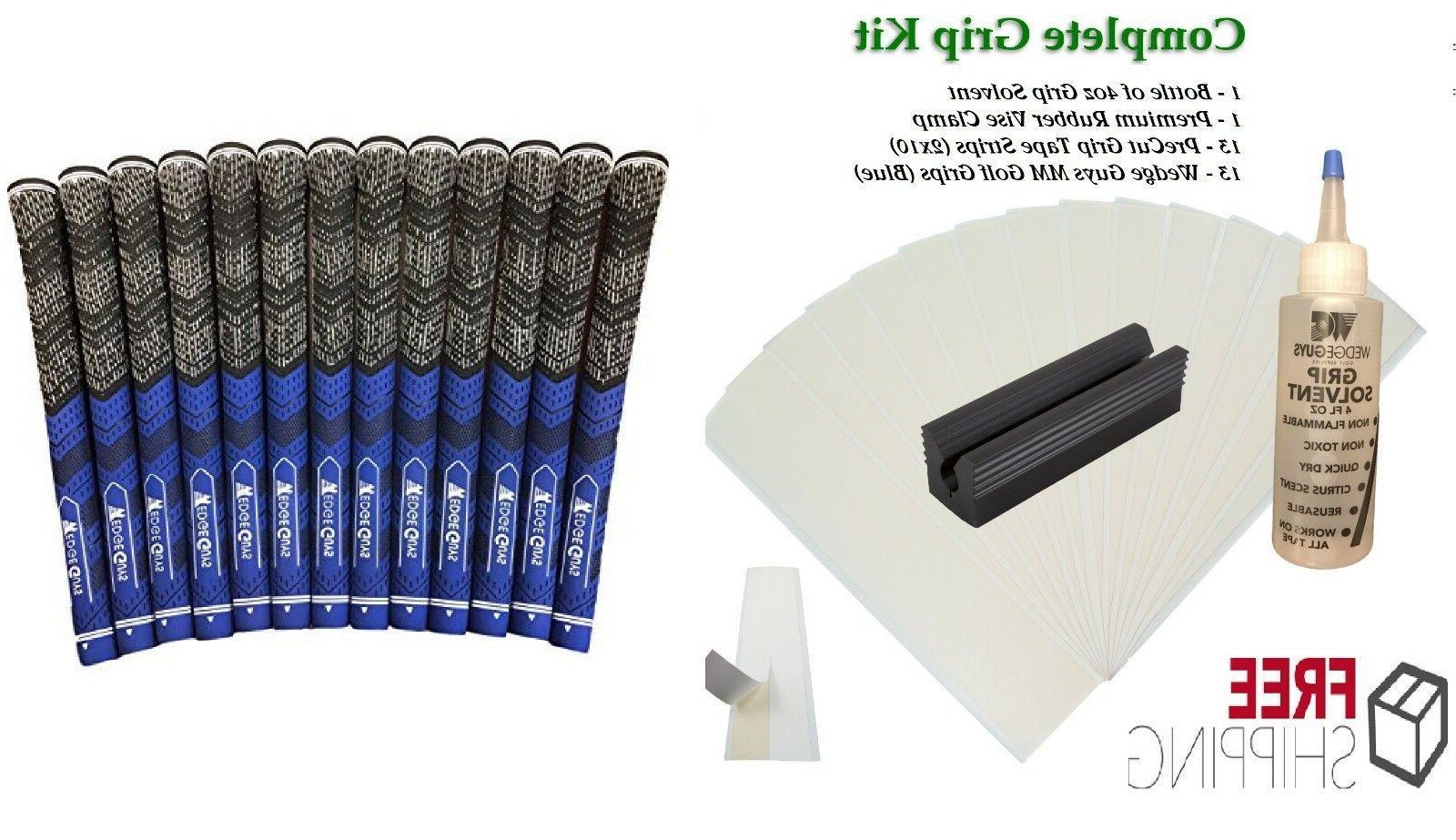 golf club grip kit 13 tape strips